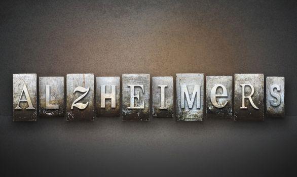 Alzheimer's Letterpress