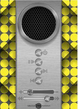 Abstract Speaker Concept Design.