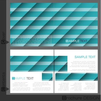 Brochure Template Design.