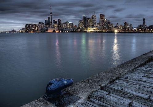 Night Shot Toronto City