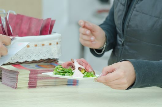 Food selling - roastbeef
