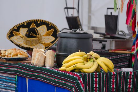 Mexican stand