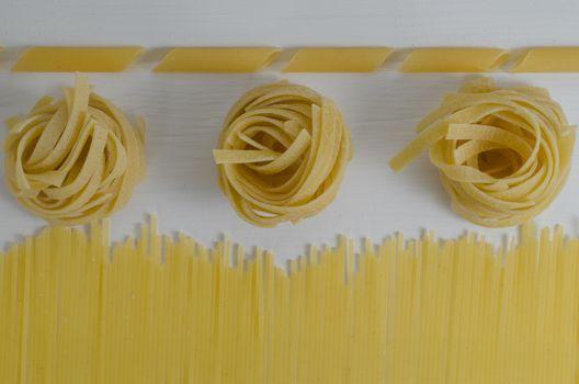 Variations of pasta