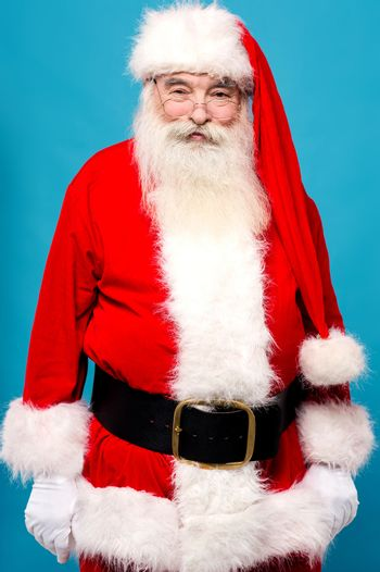 Your santa is here !