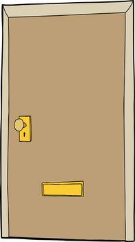 Cartoon Door