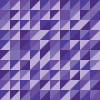 Retro triangle pattern with violet background, stock vector