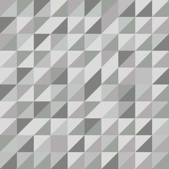 Retro triangle pattern with gray background, stock vector