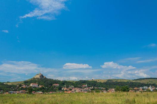 Medieval fortress of Rupea village, Transylvania, Romania