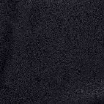 Natural qualitative black leather texture. Close up.