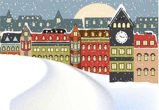 Winter Cityscape