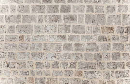 Gray brick background