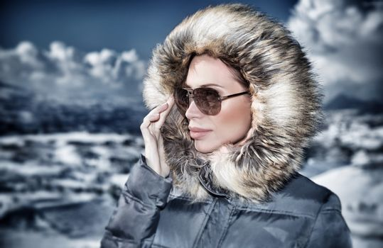Fashionable winter style