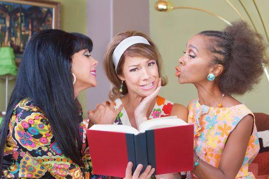 Sentimental Friends Reading Novel