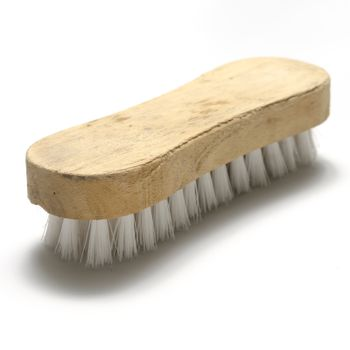 dirty wash brush