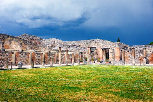 Ruins of pillars