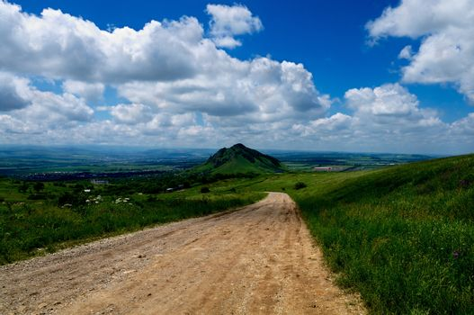 Road in Hills