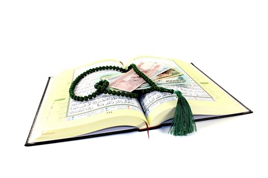 whipped Quran with Afghani