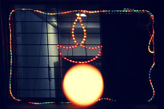 Lighting on Diwali Festival.