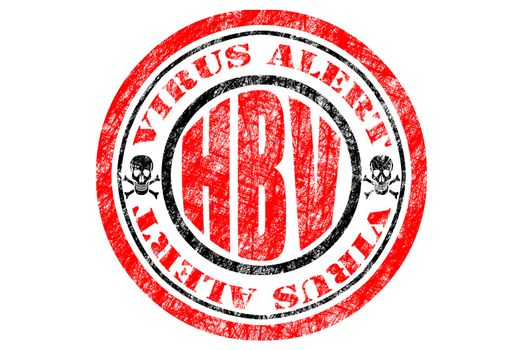 HBV Virus Alert Concept