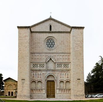 The Oratory of San Bernardino is located in Perugia, Piazza San Francesco, next to the Basilica of St. Francis