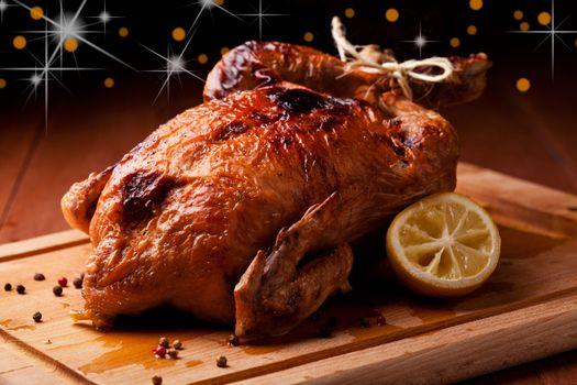 Christmas Roasted Chicken