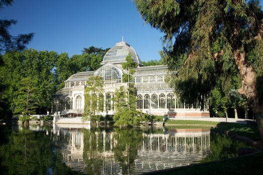 crystal palace at Madrid