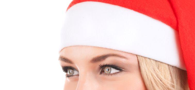 Cute Santa woman