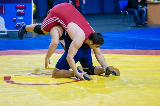 Competitions on wrestling