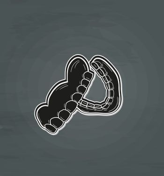 black denture