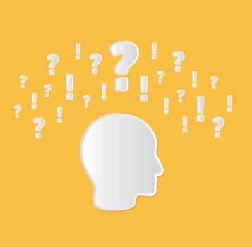 confusion in head