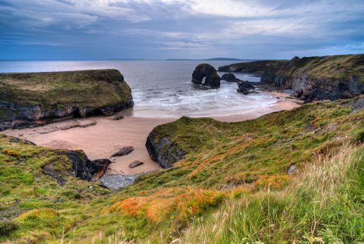 Cliff over Atlantic Ocean