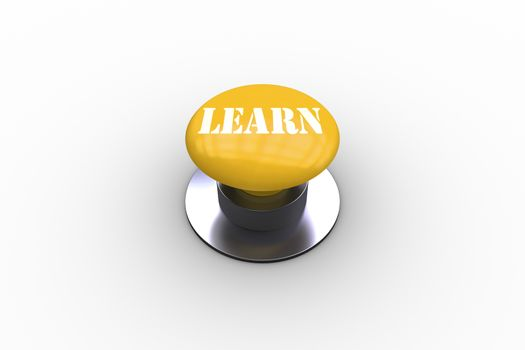 Learn on yellow push button