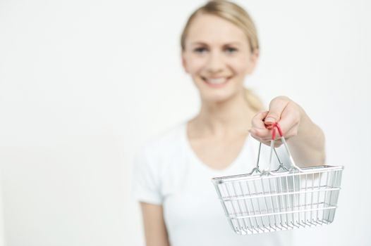Here is your shopping cart !