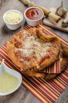 Deep fried langos