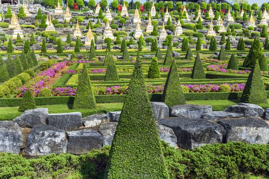 Elements of French Garden.