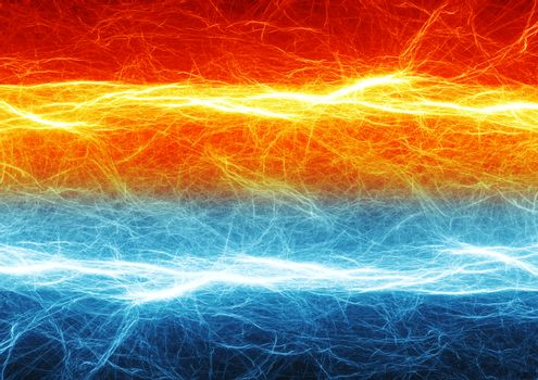 Fire and ice electrical discharge