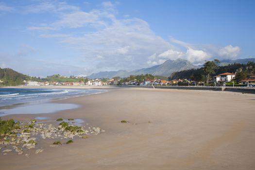 Santa Marina beach of Ribadesella