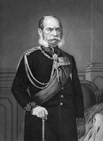 William I, German Emperor (1797-1888) on engraving from 1873. King of Prussia during 1861-1888 and the first German Emperor during 1871-1888. Engraved by unknown artist and published in ''Portrait Gallery of Eminent Men and Women with Biographies'',USA,1873.