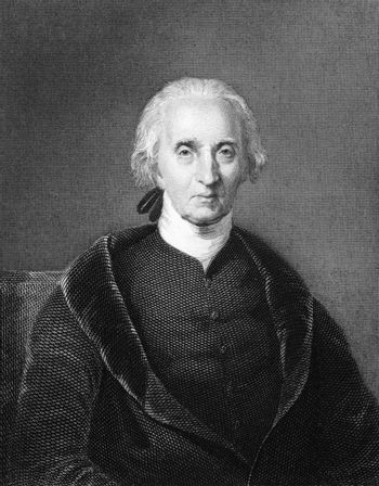 Charles Carroll of Carrollton (1737-1832) on engraving from 1834. Wealthy Maryland planter and an early advocate of independence from the Kingdom of Great Britain. Engraved by A.B Durand and published in ''National Portrait Gallery of Distinguished Americans'',USA,1834.