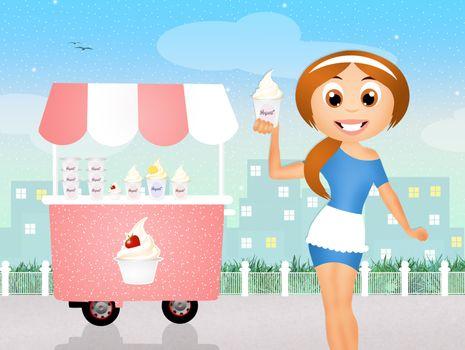 sell yogurt