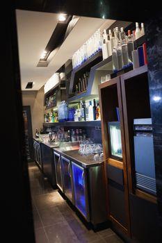 Close up on nice bar