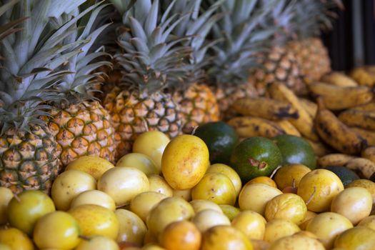 Hawaiian Fruit Stand