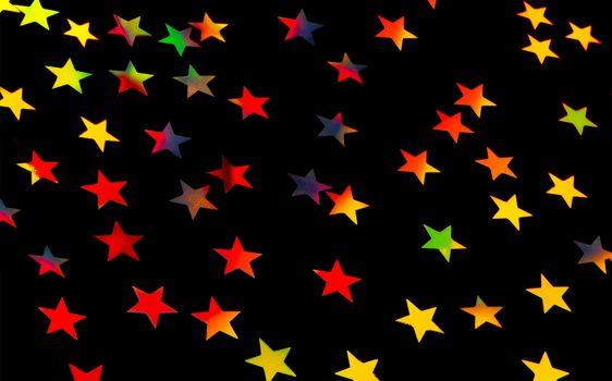 Festive starry background