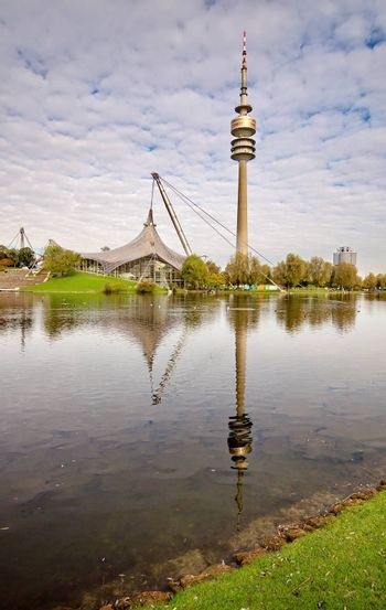 TV Tower of Munich in Germany