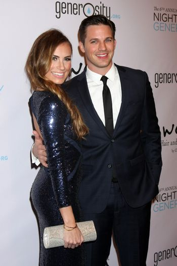 Angela Stacy Lanter, Matt Lanter at the 6th Annual Night Of Generosity, Beverly Wilshire Hotel, Beverly Hills, CA 12-05-14/ImageCollect
