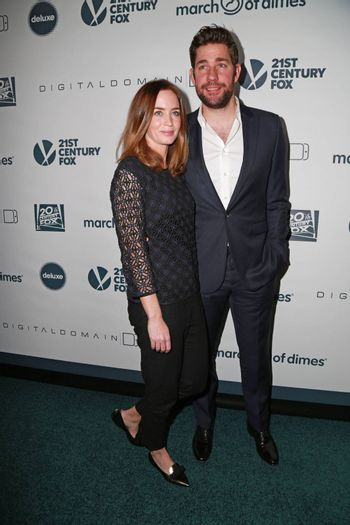 Emily Blunt, John Krasinski at the March Of Dimes` Celebration Of Babies, Regent Beverly Wilshire, Beverly Hills, CA 12-05-14 David Edwards/DailyCeleb.com 818-249-4998