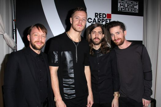 Imagine Dragons at the American Music Awards 2014, Nokia Theater, Los Angeles, CA 11-23-14/ImageCollect