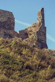 Ruin fortification walls