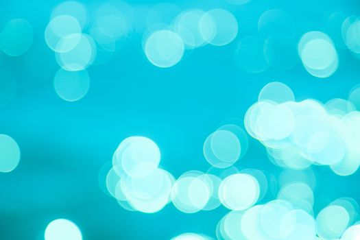 Natural blue blurred background. Defocused blue abstract background.