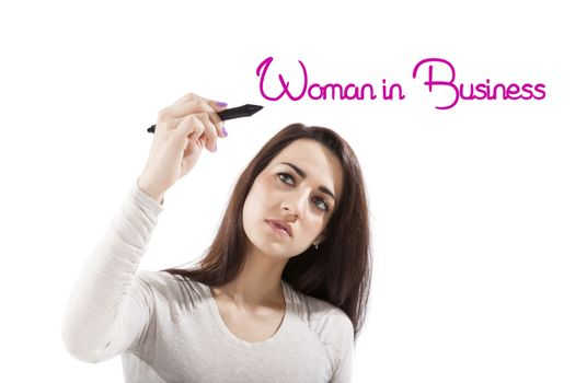 Woman in business.